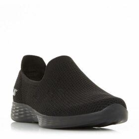 Skechers You Define Knit Slip On Shoes