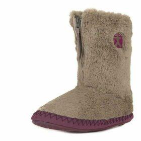 Bedroom Athletics Monrow faux fur slipper boots