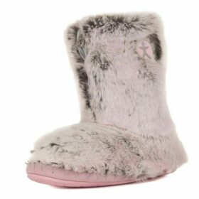 Bedroom Athletics Cole luxury faux fur slipper boots