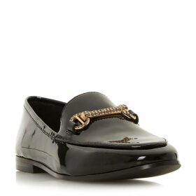 Dune Guiltty Diamante Snaffle Trim Loafers