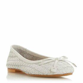 Dune Heavenn Woven Ballerina Shoes