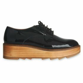 Whistles Ida Patent Lace Up Shoe