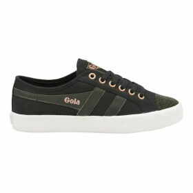 Gola Coaster Swarovski Canvas Shoes
