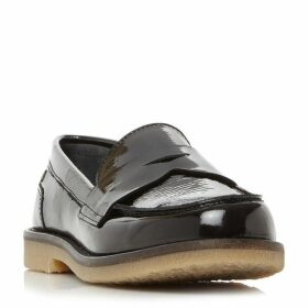 Tommy Hilfiger Mathilde 1A1 Patent Penny Loafers