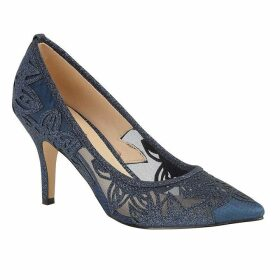 Lotus Shoes Groove Pointed Toe Glitz Courts