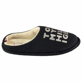 Tommy Hilfiger Metallic print slippers