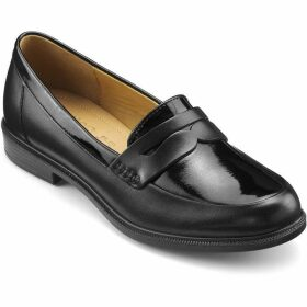 Hotter Dorset Smart Loafer Shoes