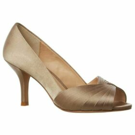 Phase Eight Sammy Satin Peep Toe Shoe