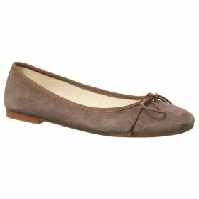 Phase Eight Suede Ballerina Pumps