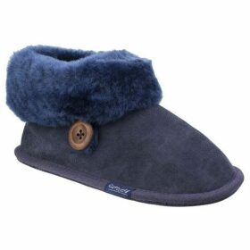 Cotswold Wotton Ladies Sheepskin Bootie Slippers