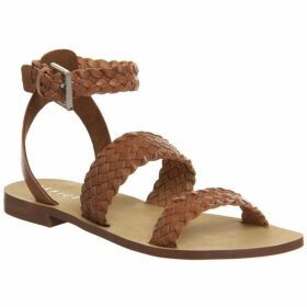 Office Springfield Weave Three Strap Sandals