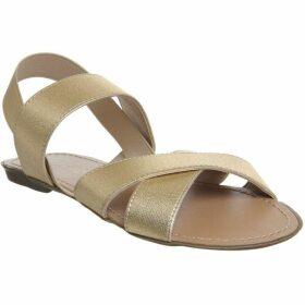 Office Skippy Elastic Cross Strap Sandals