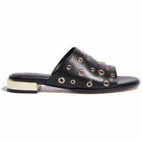 Karen Millen Eyelet Sandals