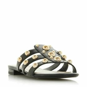 Dune Nell Stud Embellished Mule Sandals