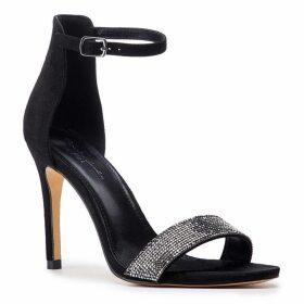 Paradox London Pink Vista High Heel Embellished Sandals