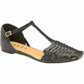 Ravel Calhoun Flat T-Bar Leather Sandals