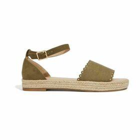 Oasis Flatform Espadrille Sandal