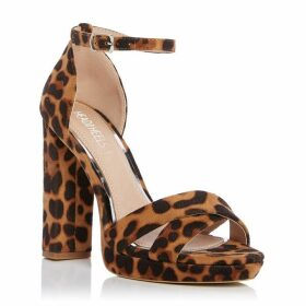 Head Over Heels Mamba Leopardprint High Sandals