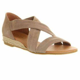 Office Hallie cross strap sandals