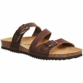 Office Bounty cross strap sandals