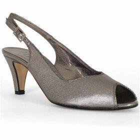 Chesca Peep Toe Slingback C+ Fit Sandal
