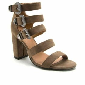 Qupid CHESTER BUCKLE STRAPPY SANDAL
