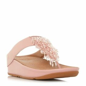 Fitflop Rumba Beaded Top Post Sandal Shoes