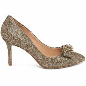 Phase Eight Jaden Metallic Jacqaured Court Shoes