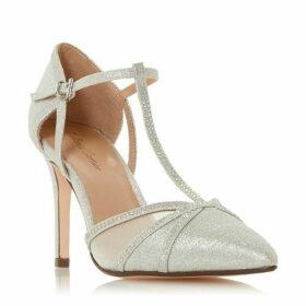Roland Cartier Dernice Diamante T - Bar Court Shoes