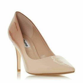 Dune Ammbre Ombre Patent Mid Heel Court Shoes