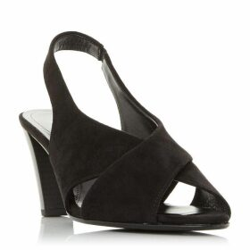 Gabor Zeus Open Toe Slingback Court Shoes