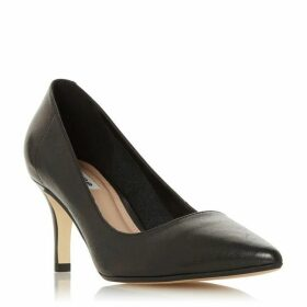 Dune Andrie Pointed Kitten Heel Court Shoes