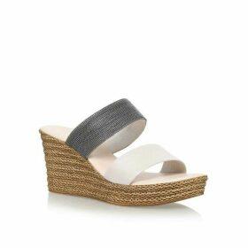 Carvela Comfort Sybil High Wedge Heel Sandals