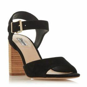 Dune Isobela 2 Part Stack Heel Sandals
