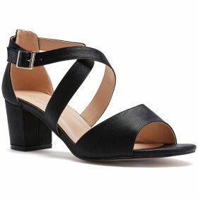 Paradox London Pink Hadid Wide Fit Block Heel Sandals