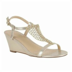Lotus Shoes Kassidy Open-Toe Wedge Shoes