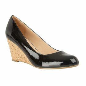 Lotus Shoes Georgia Wedge Patent Shoes