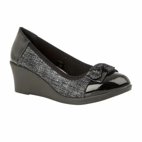 Lotus Shoes Zetta Slip-On Wedge Shoes