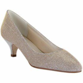 Rainbow Club Winnie metallic sparkly mid heel shoes