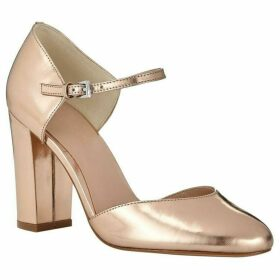 Phase Eight Metallic Leather Block Heels