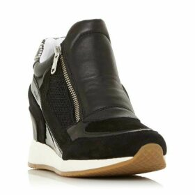 Geox D Nydame A Wedge Zip Trainers