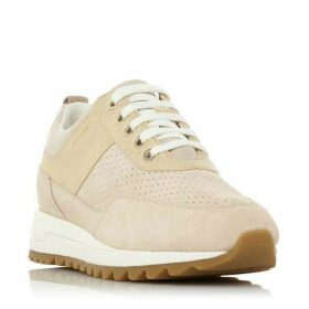 Geox D Tabelya B Mixed Material Runner Trainers