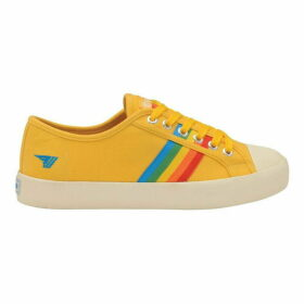 Gola Coaster Rainbow Lace Up Trainers