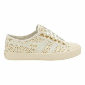 Gola Coaster Metallic Cheetah Trainers
