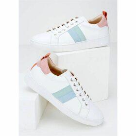 Mint Velvet Allie Rainbow Stripe Trainer