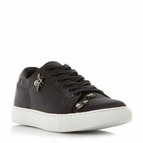 Kenneth Cole Kam Embellished Satin Trainers