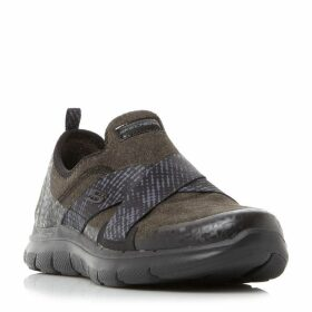 Skechers Flex Appeal 2.0 Cross Strap Trainers
