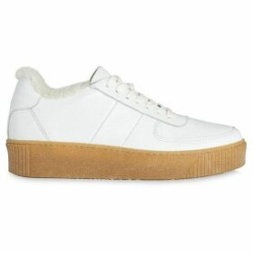 Whistles Abbey Shearling Trainer