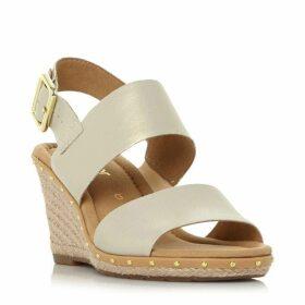 Gabor Anna 2 Stud Detail Wedged Sandals