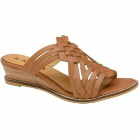 Ravel Marion Wedge Mule Leather Sandals